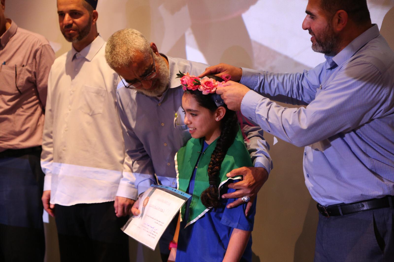 Photo of جمعية بصائر الخير تخرّج نور محمود جبارين أصغر حافظة للقرآن الكريم على مستوى أم الفحم