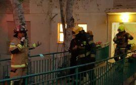 إصابات في حريق منزلي في حيفا