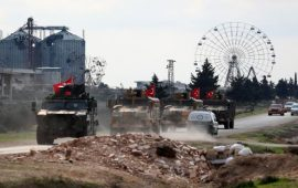 قوات النظام السوري تقصف ريفي إدلب وحلب… وتركيا تواصل استقدام التعزيزات