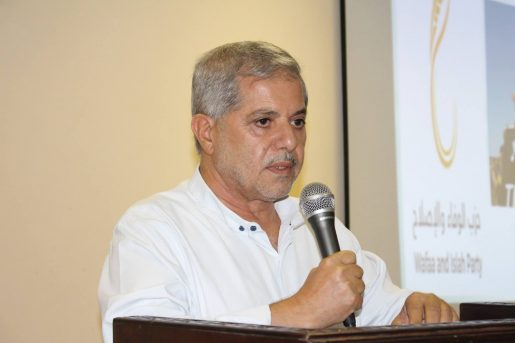 """خلال محاضرته"""" تجديد العهد في ذكرى يوم الأرض الـ 44″: البروفيسور إبراهيم أبو جابر يدعو الى الانطلاق بمشروع وطني شامل"""