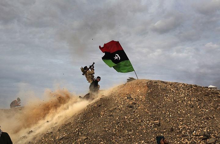 """""""الوفاق"""" تشن 5 غارات على مواقع حفتر في ترهونة"""