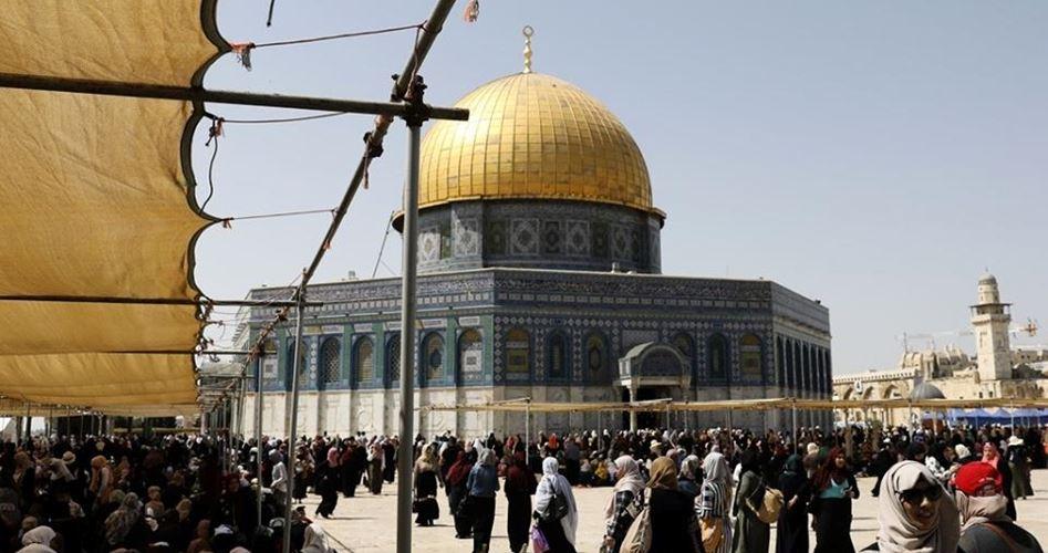 خطيب الأقصى يدعو لخطوات عملية لحماية القدس ونصرتها