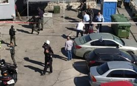 القدس: إصابة فلسطيني بزعم طعنه شرطيا إسرائيليا