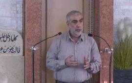 خطبة الجمعة للشيخ كمال خطيب، في مسجد عمر بن الخطاب في كفركنا