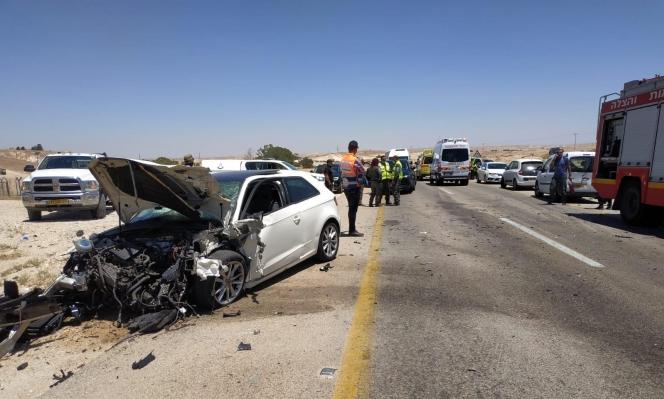 Photo of 6 إصابات بينها خطيرة في حادث طرق بالنقب