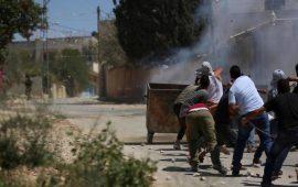 9 إصابات خلال قمع الاحتلال لمسيرة كفر قدوم