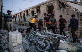النظام السوري يقصف إدلب ويحضر لعملية عسكرية في جبل الزاوية