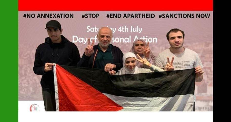 """Photo of يوم شعبي بريطاني رفضًا لـ""""الضم"""" ونصرة لفلسطين"""