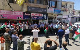 يوم غضب فلسطيني في لبنان استنكاراً لمخطط الضم الإسرائيلي