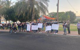 وادي عارة: وقفة احتجاجية ضد مخططات التصفية للقضية الفلسطينية