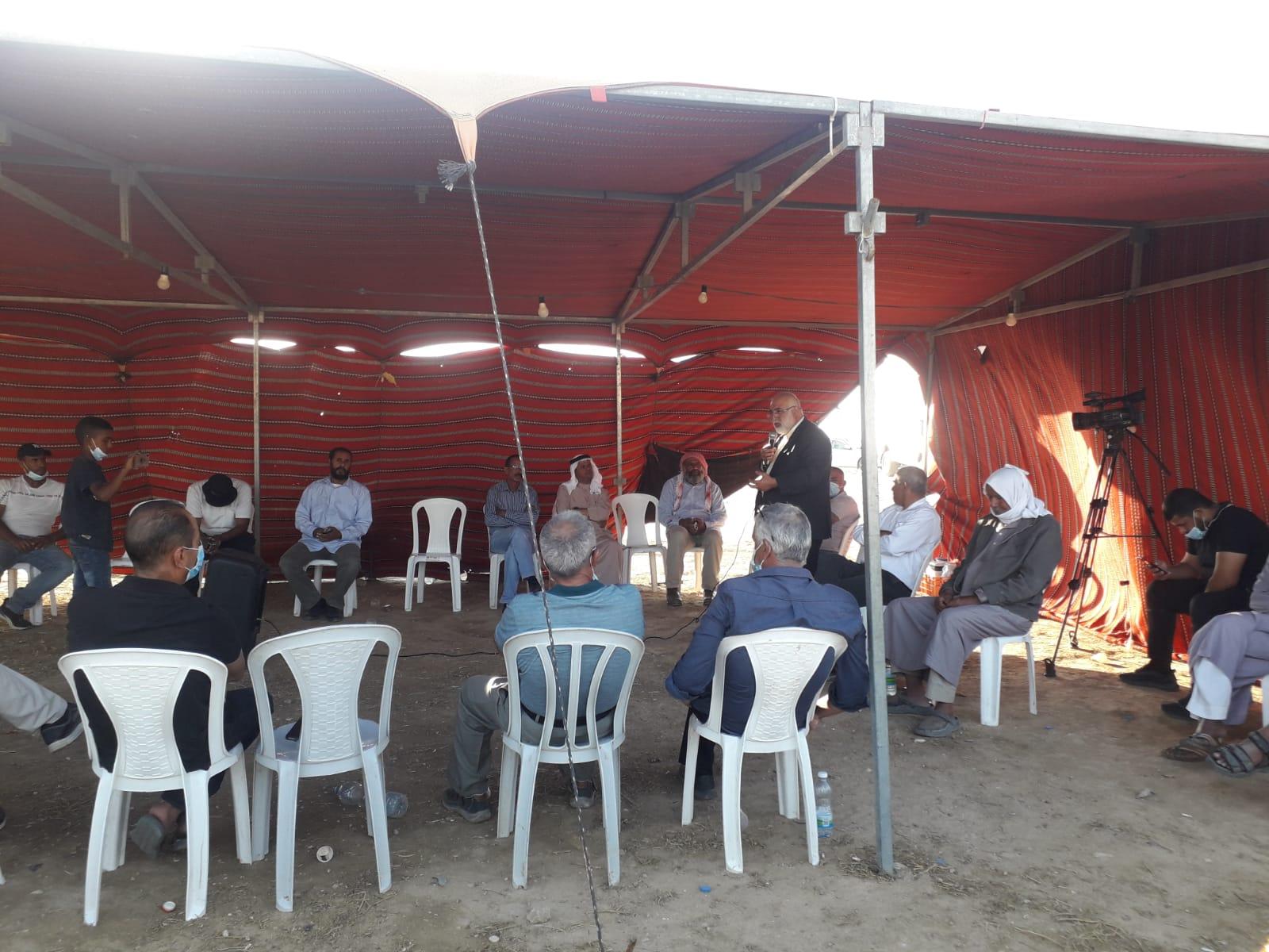 Photo of خربة الوطن: خيمة الاعتصام تستضيف الباحث صالح لطفي في ندوة ثقافية