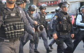 قوات الاحتلال تعتقل سبعة شبان من القدس