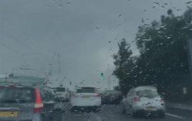 امطار آب تهطل في حيفا وتل أبيب والجليل