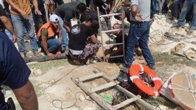 Photo of الخليل: وفاة وإصابة 6 من عائلة واحدة بسقوطهم بحفرة