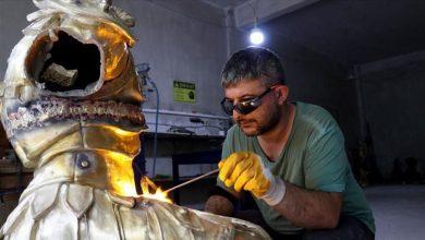 Photo of لصناعة الهياكل البرونزية.. شركة تركية تدمج الفن بالتكنولوجيا