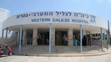 Photo of وفاتان في مستشفى نهاريا إثر إصابتهما بفيروس كورونا