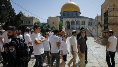 Photo of 67 مستوطنًا يقتحمون المسجد الأقصى