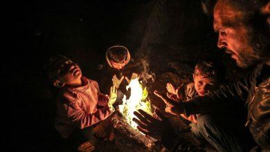 Photo of إدلب.. 3 أخوة يجمعون الكرتون نهارا ليستدفئوا ليلا