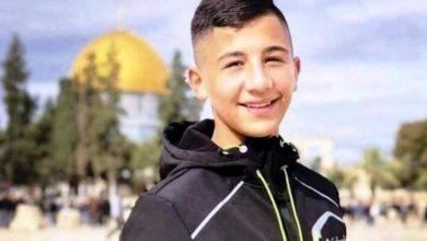 Photo of القدس: الاحتلال يقرر الإفراج عن الطفل البشيتي بشرط الإبعاد والحبس المنزلي