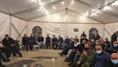 Photo of وادي عارة: خيمة الاعتصام ضد الجريمة وتواطؤ الشرطة تواصل نشاطاتها