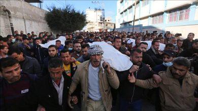 """Photo of """"داخلية"""" غزة: حوّامة إسرائيلية تسببت بمقتل 3 صيادين الأحد الماضي"""