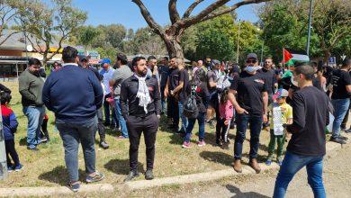 Photo of المئات يشاركون في مسيرة العودة الى اللجون