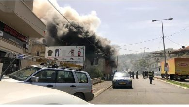 Photo of حريق كبير داخل مخبز في عرعرة