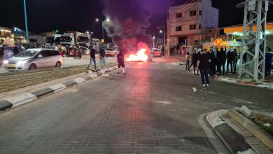 Photo of مظاهر الاحتجاج والغضب تتواصل في البلدات العربية (شاهد)
