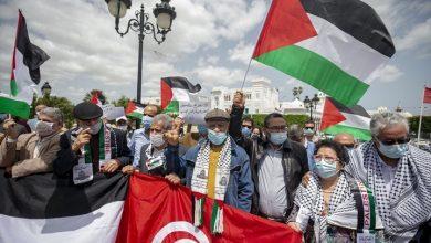 Photo of فعاليات شعبية في دول عربية تضامنا مع الفلسطينيين