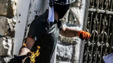 Photo of حارقات ومفرقعات نارية صوب جنود الاحتلال والمستوطنين في القدس
