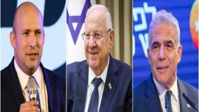 """Photo of """"لبيد"""" يطلب من الرئيس الإسرائيلي تكليفه بتشكيل الحكومة"""