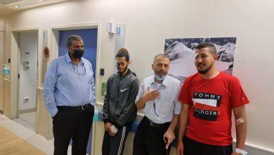 Photo of الدكتور سليمان اغبارية يترأس وفدًا لزيارة مصابي الاقصى