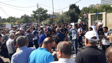 "Photo of دعت إليها ""المتابعة"": مظاهرة في الشيخ جراح احتجاجًا على إخلاء عائلات مقدسية من منازلهم"