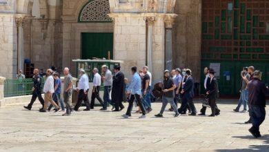 Photo of مستوطنون يقتحمون الأقصى بحماية قوات الاحتلال