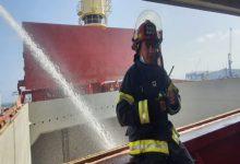 Photo of اشتعال النار على متن سفينة في ميناء حيفا