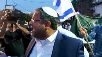 Photo of توتر بباب العامود بعد وصول المتطرف بن غفير