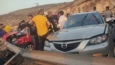 Photo of مصرع سيدة وإصابة ثلاثة أشخاص بحادث سير في جنين