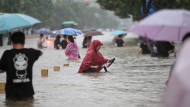 Photo of 12 قتيلا وإجلاء عشرات الآلاف بسبب الفيضانات في الصين