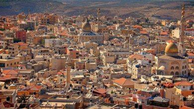 Photo of بلدية ام الفحم: تحول المدينة إلى اللون الأصفر مع علامة 5