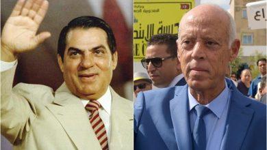 """Photo of """"87%"""" توحد زين العابدين بن علي وقيس سعيّد"""