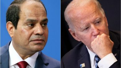 Photo of إدارة بايدن تحجب جزءا من مساعدات مصر بسبب مخاوف حقوقية