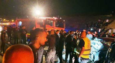 Photo of النقب: مصرع شاب واصابة 3 آخرين بحادث طرق