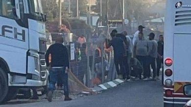 Photo of كَفر كنا: إصابة خطيرة لعامل في مشروع تطوير بالبلدة