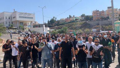 "Photo of ""أم الفحم أقوى من الإجرام"": مظاهرة ضد العنف والجريمة وتواطؤ الشرطة في أم الفحم"